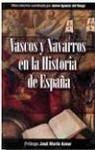 Portada de VASCOS Y NAVARROS EN LA HISTORIA DE ESPAÑA