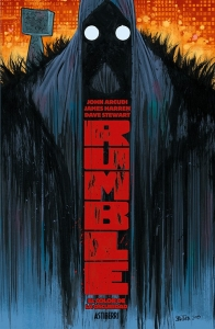 RUMBLE TOMO 1: EL COLOR DE LA OSCURIDAD