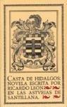 Portada de CASTA DE HIDALGOS