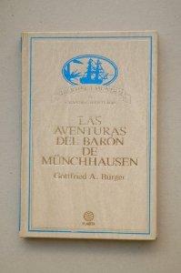 Portada de LAS AVENTURAS DEL BARÓN DE MÜNCHHAUSEN