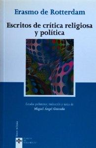 Portada de ESCRITOS DE CRÍTICA RELIGIOSA Y POLÍTICA