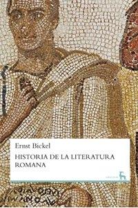 Portada de HISTORIA DE LA LITERATURA ROMANA