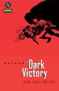 Portada de BATMAN: VICTORIA OSCURA