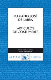 Portada de ARTÍCULOS DE COSTUMBRES