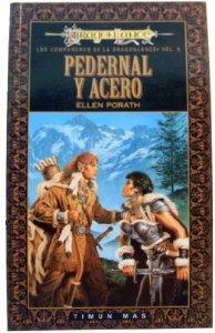 Portada de PEDERNAL Y ACERO (COMPAÑEROS DE LA DRAGONLANCE#5)