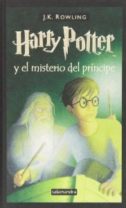 Portada de HARRY POTTER Y EL MISTERIO DEL PRÍNCIPE (HARRY POTTER #6)