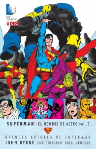 SUPERMAN: EL HOMBRE DE ACERO (GRANDES AUTORES DE SUPERMAN: JOHN BYRNE #3)