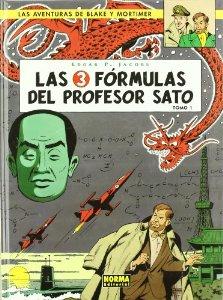 LAS 3 FÓRMULAS DEL PROFESOR SATO ( LAS AVENTURAS DE BLAKE Y MORTIMER#8)