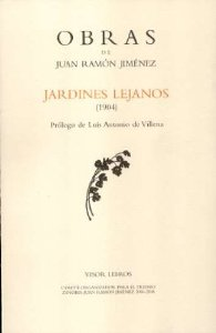 Portada de JARDINES LEJANOS (OBRAS JUAN RAMÓN JIMÉNEZ, III)