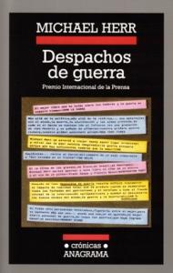 Portada de DESPACHOS DE GUERRA