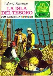 Portada de LA ISLA DEL TESORO. JOYAS LITERARIAS JUVENILES ( JOYAS LITERARIAS JUVENILES#2)