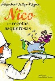 Portada de NICO Y LAS RECETAS ASQUEROSAS