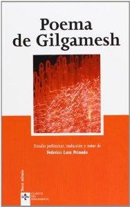 Portada de POEMA DE GILGAMESH