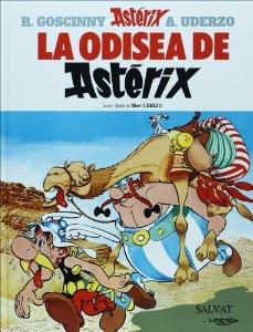 Portada de LA ODISEA DE ASTÉRIX (ASTÉRIX #27)