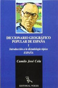 Portada de DICCIONARIO GEOGRÁFICO POPULAR DE ESPAÑA. INTRODUCCIÓN A LA DIDACTOLOGÍA TÓPICA