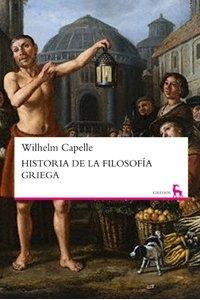 Portada de HISTORIA DE LA FILOSOFÍA GRIEGA