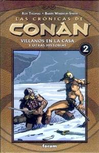 CONAN: VILLANOS EN LA CASA Y OTRAS HISTORIAS (LAS CRÓNICAS DE CONAN#2)