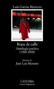 Portada de ROPA DE CALLE (ANTOLOGÍA POÉTICA 1980-2008)