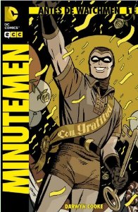 Portada de BEFORE WATCHMEN: MINUTEMEN