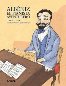 Portada de ALBÉNIZ EL PIANISTA AVENTURERO