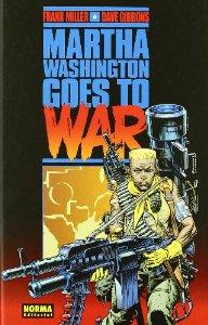 Portada de MARTHA WASHINGTON GOES TO WAR
