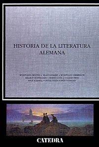 Portada de HISTORIA DE LA LITERATURA ALEMANA