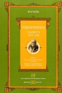 Portada de CORRESPONDENCIA. VOLUMEN III (1876-1883)