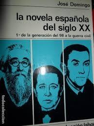 Portada de LA NOVELA ESPAÑOLA DEL SIGLO XX