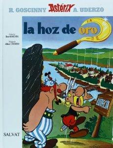 Portada de LA HOZ DE ORO (ASTÉRIX #2)