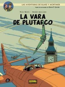 Portada de LA VARA DE PLUTARCO ( LAS AVENTURAS DE BLAKE Y MORTIMER#17)