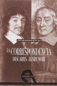 Portada de LA CORRESPONDENCIA DESCARTES - HENRY MORE