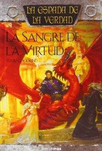 Portada de LA SANGRE DE LA VIRTUD (LA ESPADA DE LA VERDAD #5)