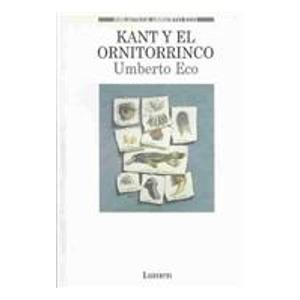 Portada de KANT Y EL ORNITORRINCO