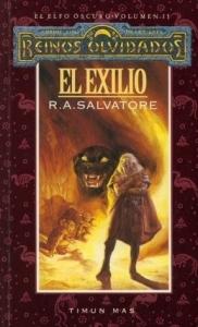 Portada de EL EXILIO (EL ELFO OSCURO #2)