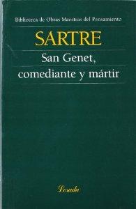 Portada de SAN GENET, COMEDIANTE Y MÁRTIR