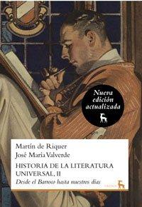 Portada de DESDE EL BARROCO HASTA NUESTROS DIAS (HISTORIA DE LA LITERATURA UNIVERSAL #2)