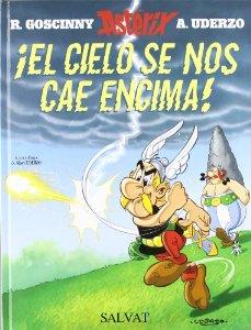 Portada de ¡EL CIELO SE NOS CAE ENCIMA! (ASTÉRIX #37)