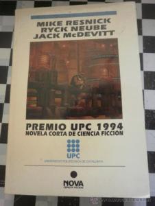 Portada de PREMIO UPC 1994: NOVELA CORTA DE CIENCIA FICCIÓN