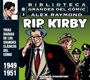 BIBLIOTECA GRANDES DEL CÓMIC. RIP KIRBY 3 (RIP KIRBY#3)