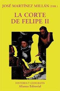 Portada de LA CORTE DE FELIPE II