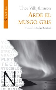 Portada de ARDE EL MUSGO GRIS