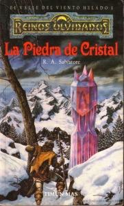 Portada de LA PIEDRA DE CRISTAL (EL VALLE DEL VIENTO HELADO #1)