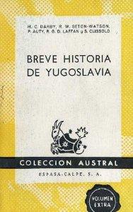 Portada de BREVE HISTORIA DE YUGOSLAVIA