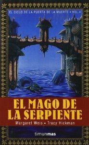 Portada de EL MAGO DE LA SERPIENTE (EL CICLO DE LA PUERTA DE LA MUERTE #4)
