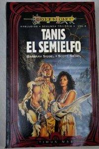 Portada de TANIS EL SEMIELFO (PRELUDIOS II DE DRAGONLANCE #3)