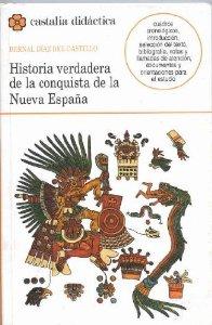Portada de HISTORIA VERDADERA DE LA CONQUISTA DE LA NUEVA ESPAÑA