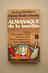 Portada de ALMANAQUE DE LO INSÓLITO VOL. 2