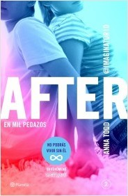 Portada de AFTER: EN MIL PEDAZOS. After 2