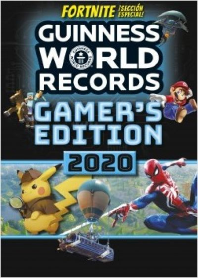 Portada de GUINNESS WORLD RECORDS 2020. Gamer s edition