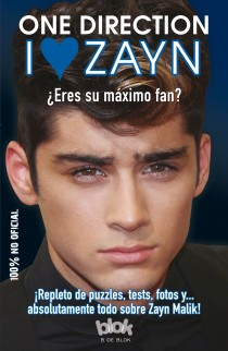 Portada de I LOVE ZAYN. One Direction